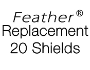 Feather Replacement 20 Shield Pack (FL-10-20)