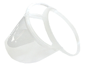 Bio-Mask Single Pack in Clear (B-101-C)