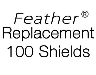 Feather Replacement 100 Shield Pack